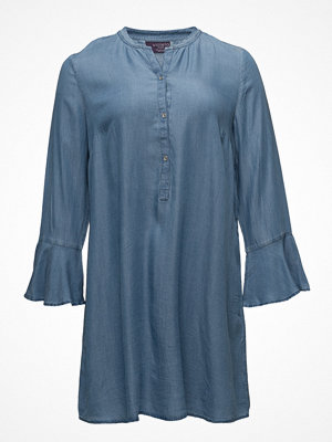Violeta by Mango Flared Sleeve Denim Dress