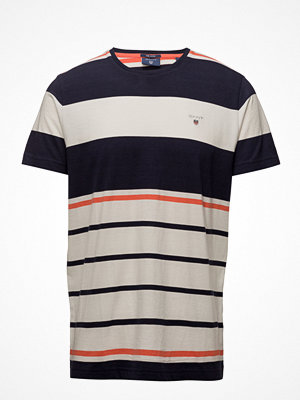 T-shirts - Gant O2. Multi Stripe Ss T-Shirt