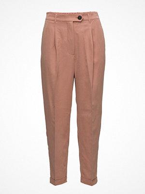 Mango beige byxor Modal Suit Trousers