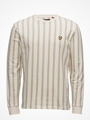 Tröjor & cardigans - Lyle & Scott Deckchair Stripe Sweatshirt