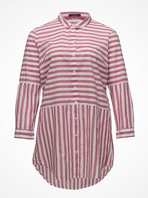 Violeta by Mango Oversize Striped Shirt