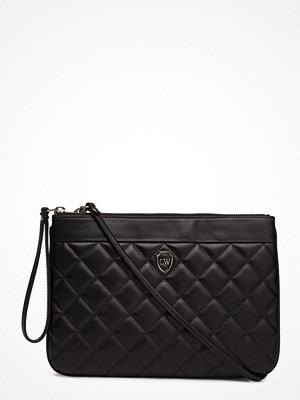 Leowulff svart kuvertväska Poppy Bag