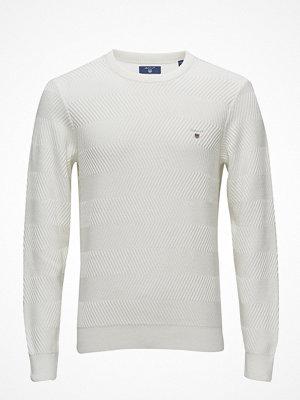 Tröjor & cardigans - Gant O2. Wave Texture Crew