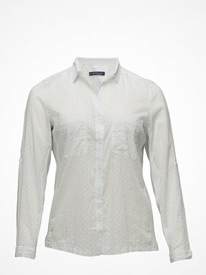 Violeta by Mango Striped Micro Dots Shirt