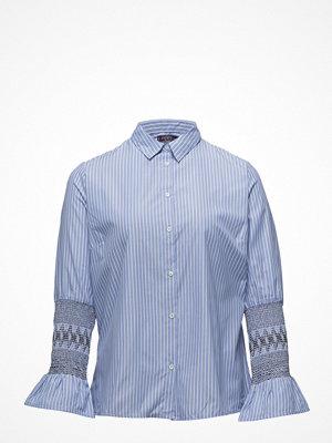 Violeta by Mango Stripes Bands Shirt