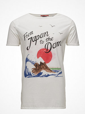 T-shirts - Scotch & Soda Greetings From Amsterdam Postcard Tee