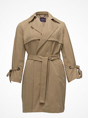 Trenchcoats - Violeta by Mango Pleated Sleeve Trench