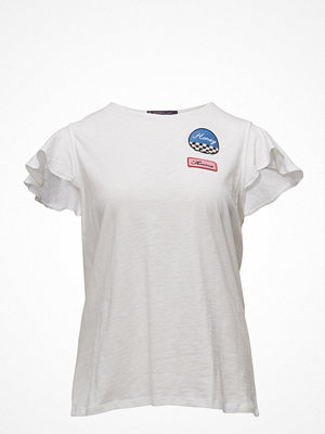 Violeta by Mango Cotton Patch T-Shirt