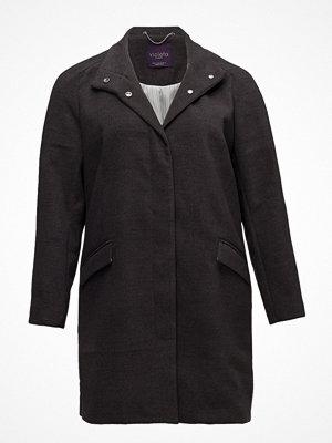 Violeta by Mango Funnel Neck Coat