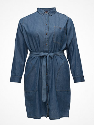 Violeta by Mango Denim Shirt Dress