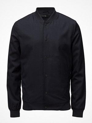 Junk De Luxe Pin Stripe Bomber Jacket