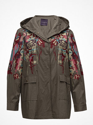 Parkasjackor - Violeta by Mango Embroidered Cotton Parka