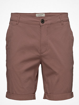 Shorts & kortbyxor - Selected Homme Slhstraight-Paris Bwood Shorts Noos W