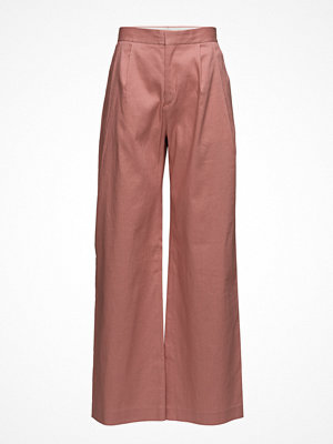 Filippa K persikofärgade byxor Katie Pleated Trousers