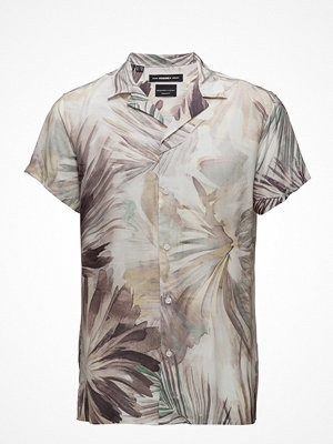 Selected Homme Shxtwoadam-Cuban Shirt Ss Aop