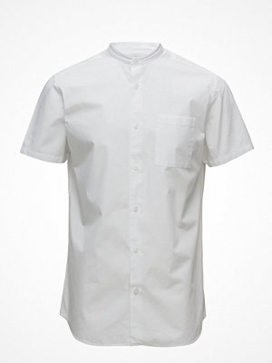 Selected Homme Shdtwocrisp-China Shirt Ss Solid