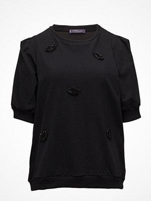 Violeta by Mango Appliques Cotton Sweatshirt