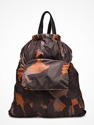 Hope svart mönstrad ryggsäck Zack Bag