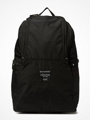 Marimekko svart ryggsäck Metro