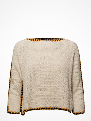 Mango Contrast Trim Sweater