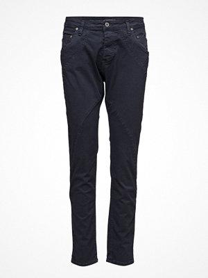 Please Jeans svarta byxor New Classic Dodge Blue