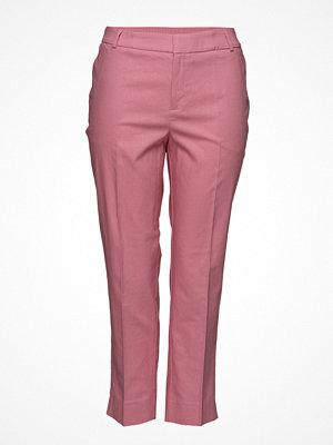 Violeta by Mango omönstrade byxor Linen Suit Trousers