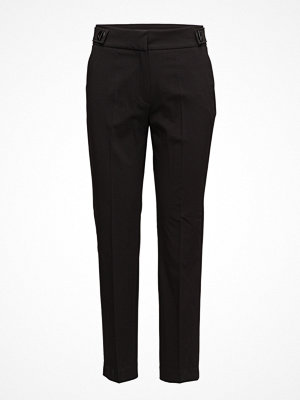 Mango svarta byxor Rings Straight Trousers