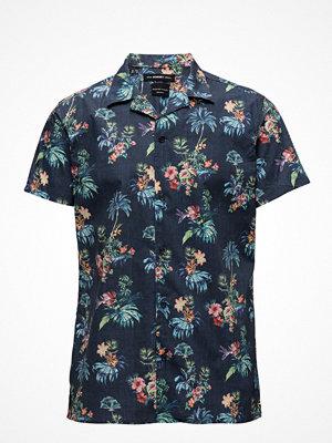 Selected Homme Shxtwohyun-Cuban Shirt Ss Aop