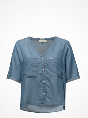 Lee Jeans Cropped V Neck Blous