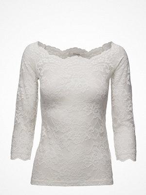 Cream Lilliana 3/4 Sleeve Blouse