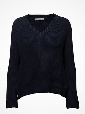 Mango Flared Sleeve Ribbed Jumper