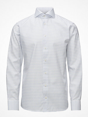Eton Light Blue & White Check Shirt