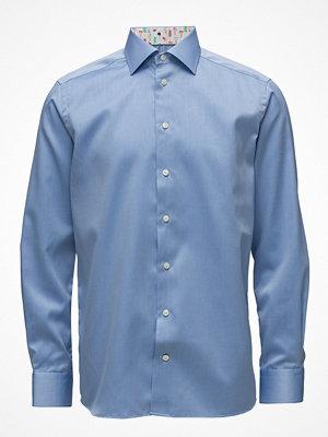 Eton Blue Shirt - Micro Print Detail