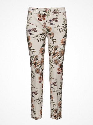 Mango mönstrade byxor Printed Trousers