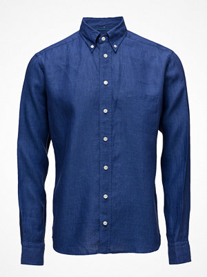 Eton Blue Linen Shirt