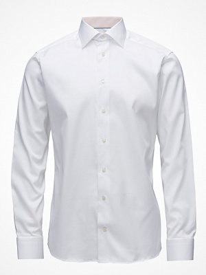 Eton White Shirt – Micro Print Detail