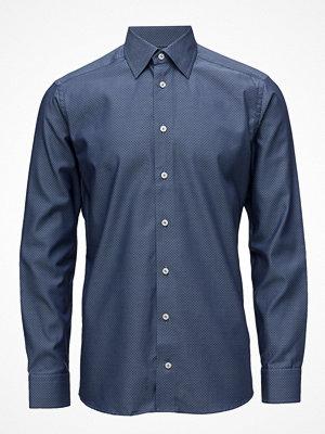 Eton Navy Pinpoint Button-Under Shirt