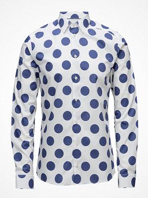 Eton Bold Polka Dots Print Shirt