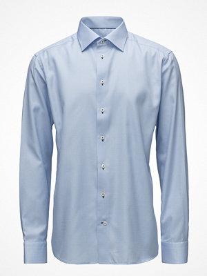 Eton Blue Twill Shirt - Navy Details