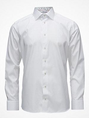 Eton White Shirt – Palm Print Details