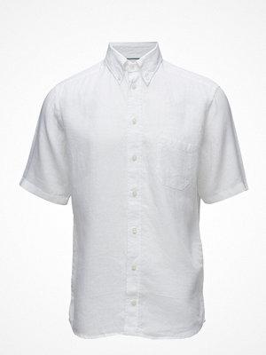 Eton White Linen Shirt - Short Sleeve