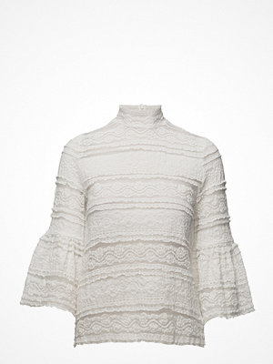 by Ti Mo Victorian Lace High Neck Top