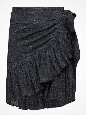 Cathrine Hammel Linen Ruffle Skirt