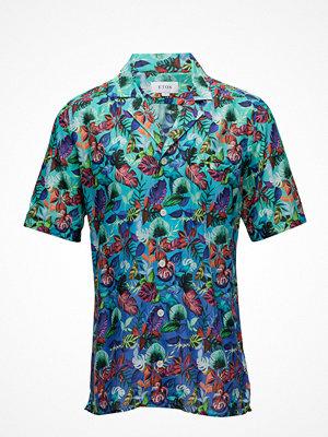 Eton Hawaii Print Resort Shirt