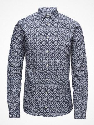 Eton Palm Print Poplin Shirt