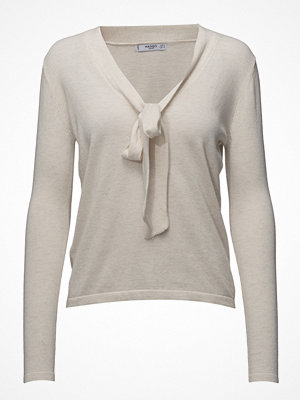 Mango Bow V-Neckline Sweater