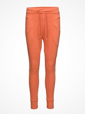 Please Jeans röda byxor Jogging Golden Poppy