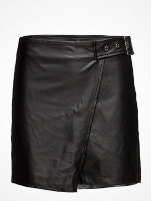 Only Onlfling Pu Detail Skirt Pnt