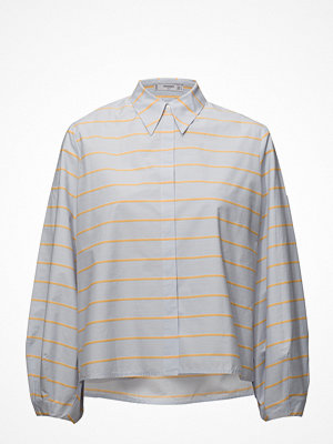 Mango Stripe-Patterned Shirt