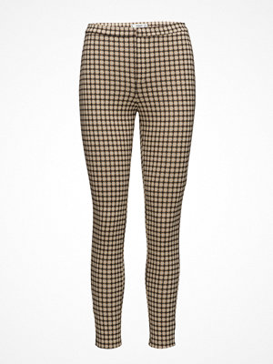 Mango rutiga byxor Check Pattern Leggings